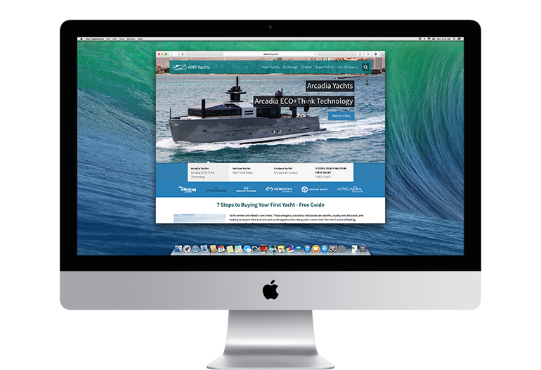 Hmy yachts homepage