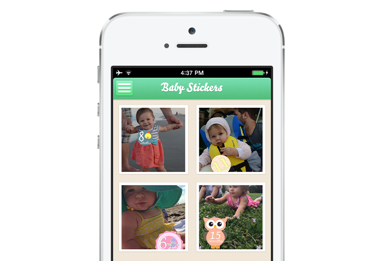 Baby stickers gallery