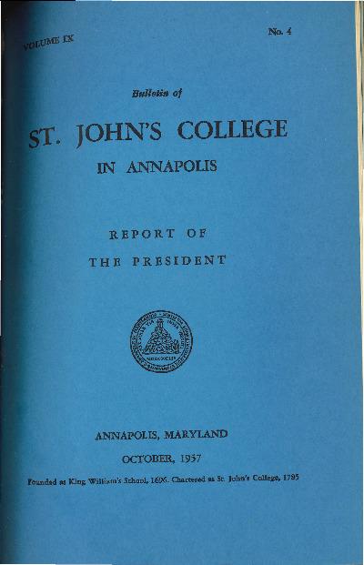 Bulletin October 1957-Vol IX No 4-Report of the President.pdf