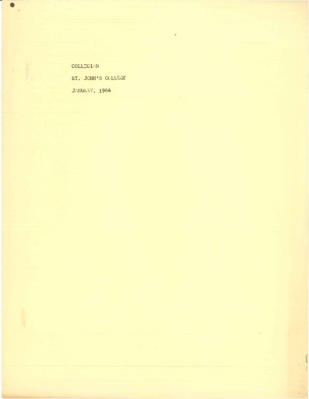 Collegian Jan 1964.pdf