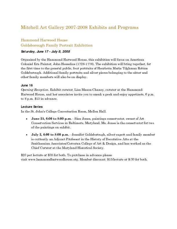 Mitchell Gallery Exhibition Schedule 2007-2008.pdf