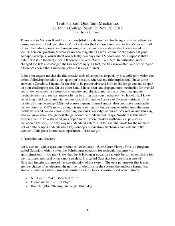 Trout, B. Truths about Quantum Mechanics.pdf