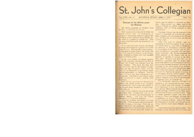 Collegian Vol. LVIII No. 10.pdf