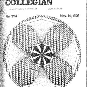 The Collegian, November 14, 1976