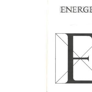 Energeia, Spring 1996