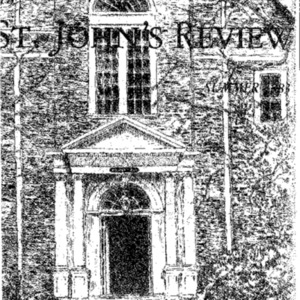 The St. John's Review (formerly The College), Summer 1983