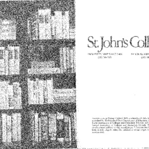 [Statement of the St. John's Program 1981-82]