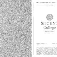 Statement of the St. John's Program 1999-2000