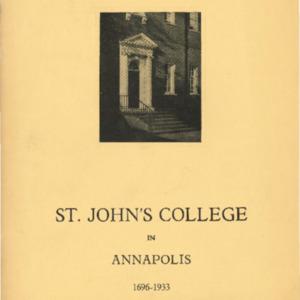 St. John's College in Annapolis (Vol. III No. 2) Feb. 1933.pdf