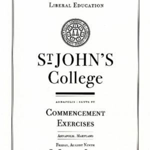Graduate Institute Commencement Program,  2013