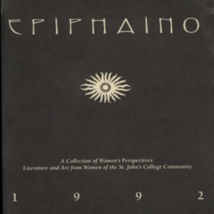 Epiphaino : a women's anthology, 1992