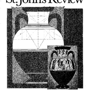 The St. John's Review (formerly The College), Winter 1985