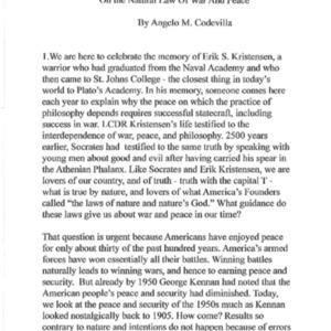 Codevilla 4-19-17 (Kristensen Lecture).pdf