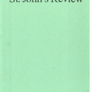 St. John's Review, Vol 60 No 1&2, Fall2018-Spring 2019.pdf