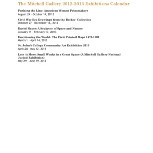 Mitchell Gallery Exhibition Schedule 2012-2013.pdf
