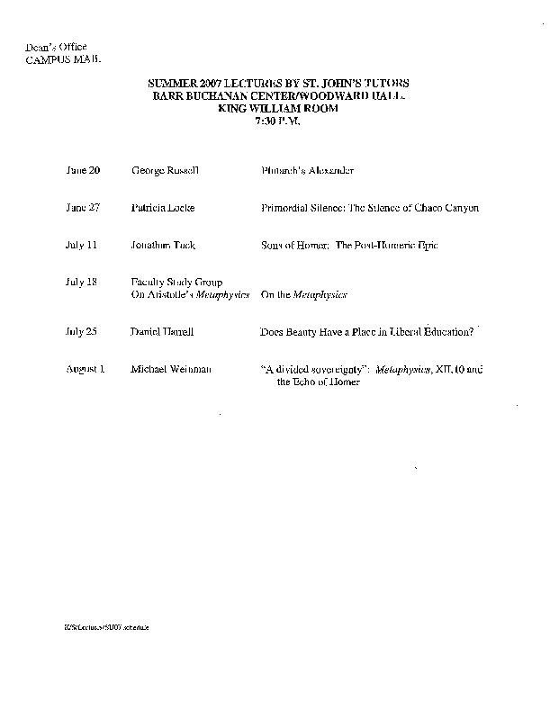 Lecture Schedule 2007 Summer.pdf
