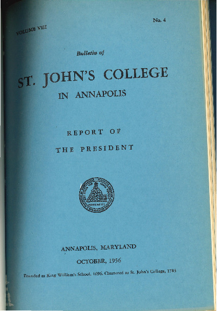 Bulletin October 1956-Vol VIII No 4-Report of the President.pdf