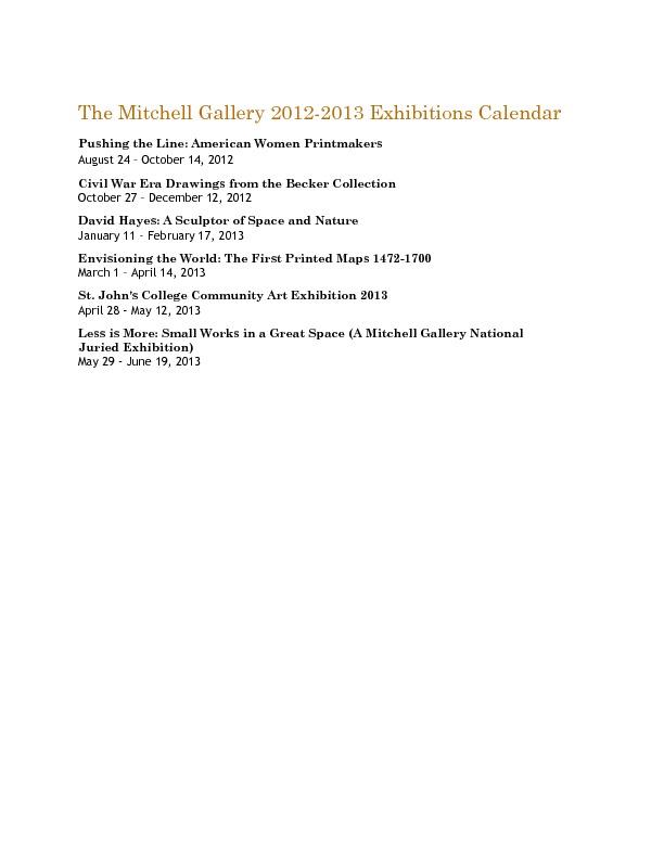 Mitchell Gallery Exhibition Schedule 2012-2013.pdf