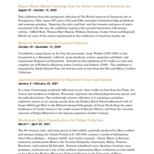 Mitchell Gallery Exhibition Schedule 2000-2001.pdf
