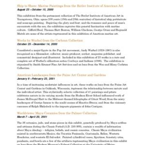 Mitchell Gallery Exhibition Schedule 2000-2001.pdf