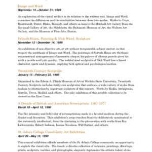 Mitchell Gallery Exhibition Schedule 1989-1990.pdf
