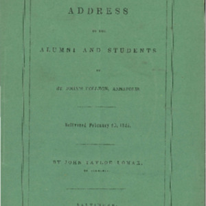 Address to the Alumni and Students of St. John's-Lomax, John Tayloe-1842-02-22.pdf