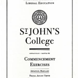 Graduate Institute Commencement Program,  2007