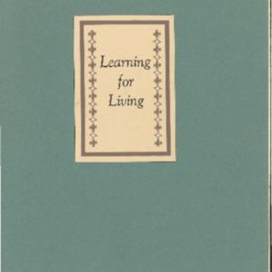 Learning for Living- The Bulletin June 1952- Vol IV #2.pdf