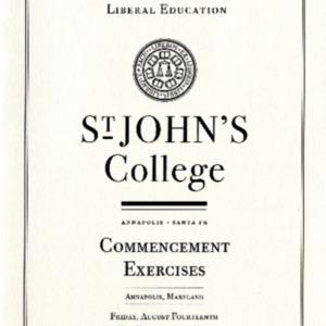 Graduate Institute Commencement Program,  2009