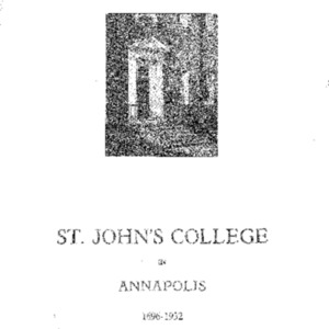 St. John's College in Annapolis (Vol. II No. 2) May 1932.pdf