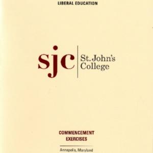 Graduate Institute Commencement Program,  2015