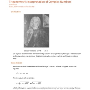 Franks, G. Trignometry and Complex Numbers 2019-09-17.pdf