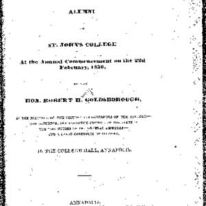 Commencement Address-Commencement Address-Hon. Robert H. Goldborough-1836.pdf