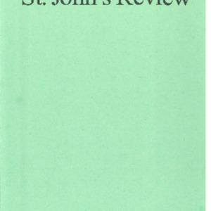 St. John's Review, Vol 60 No 1&2, Fall2018-Spring 2019.pdf