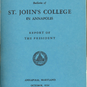 Bulletin October 1954-Vol. VI No. 4-Report of the President.pdf