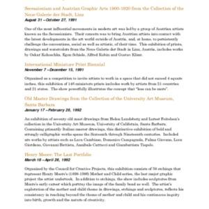 Mitchell Gallery Exhibition Schedule 1991-1992.pdf