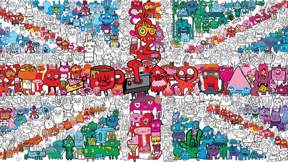 Character Design Classes In Nyc : Digital illustration doodles to designs jon burgerman