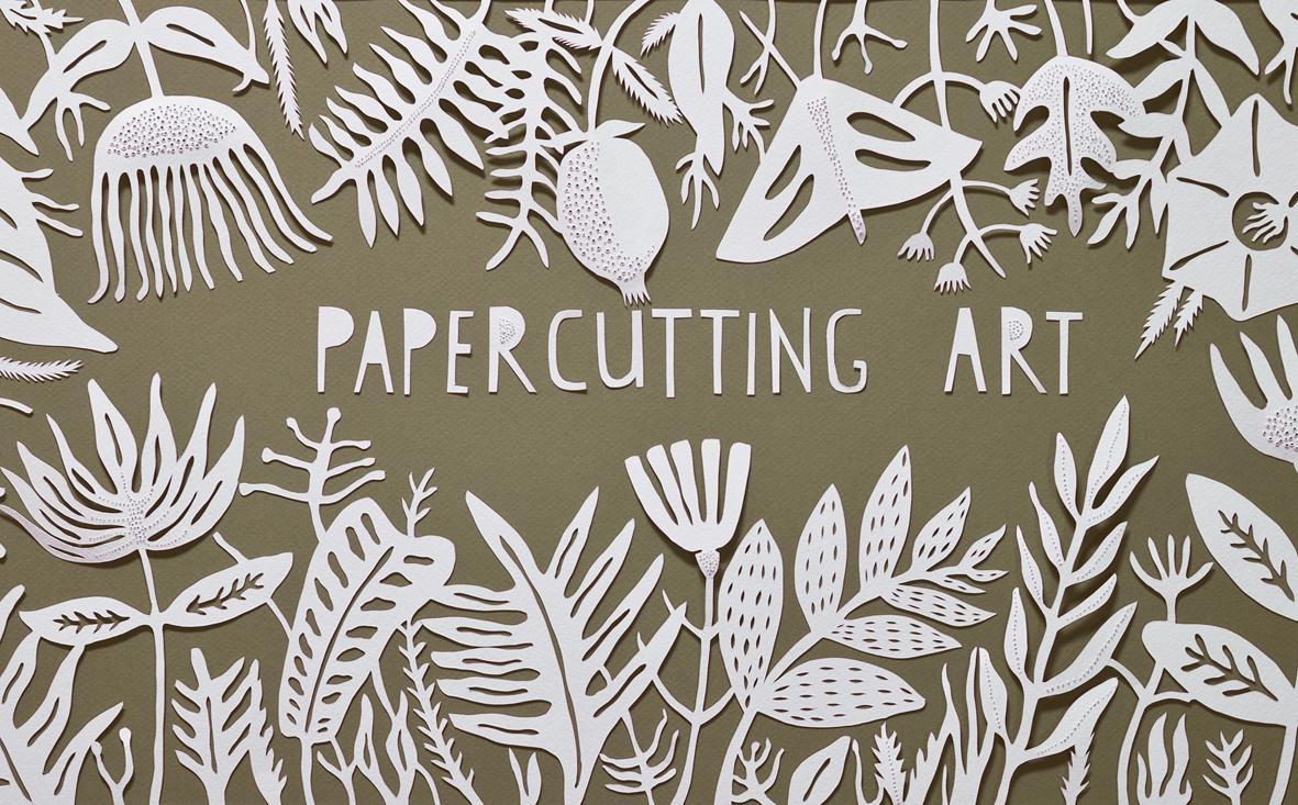 Wall Design Paper Cutting : Decorative styling with papercutting art tanya malva