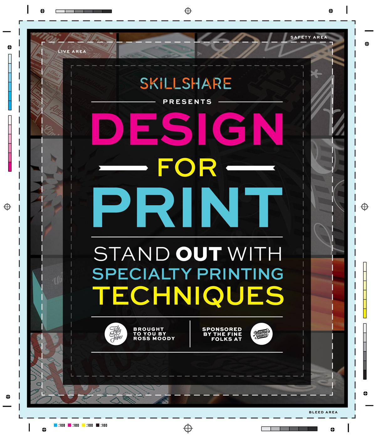Designs Stand Out : Design for print stand out with specialty printing