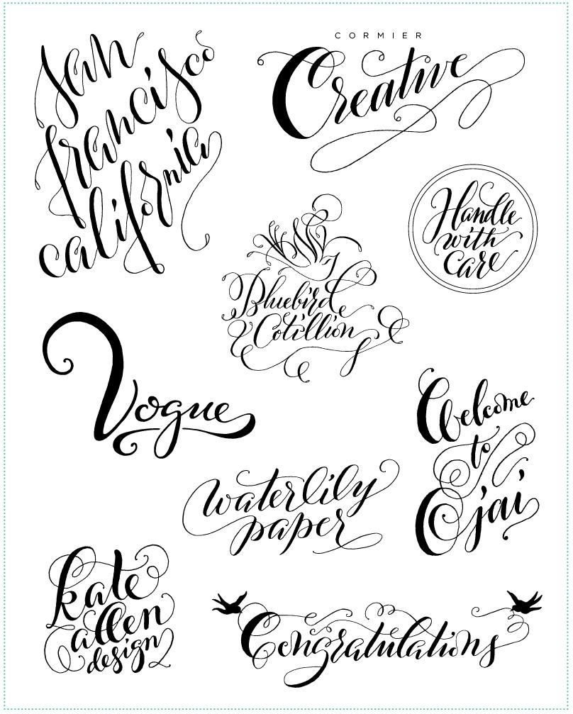 Digitizing calligraphy from sketch to vector molly suber