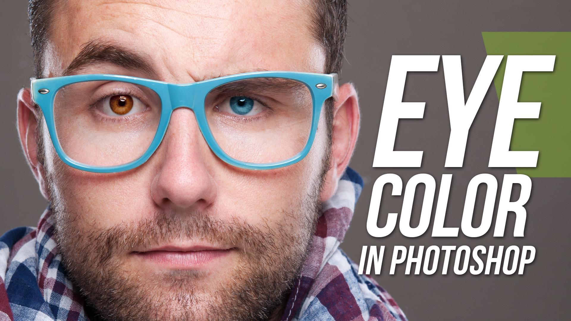 how to change glasses color in photoshop