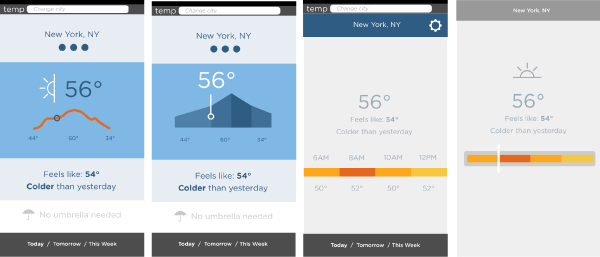 Color Bar Weather App - image 4 - student project