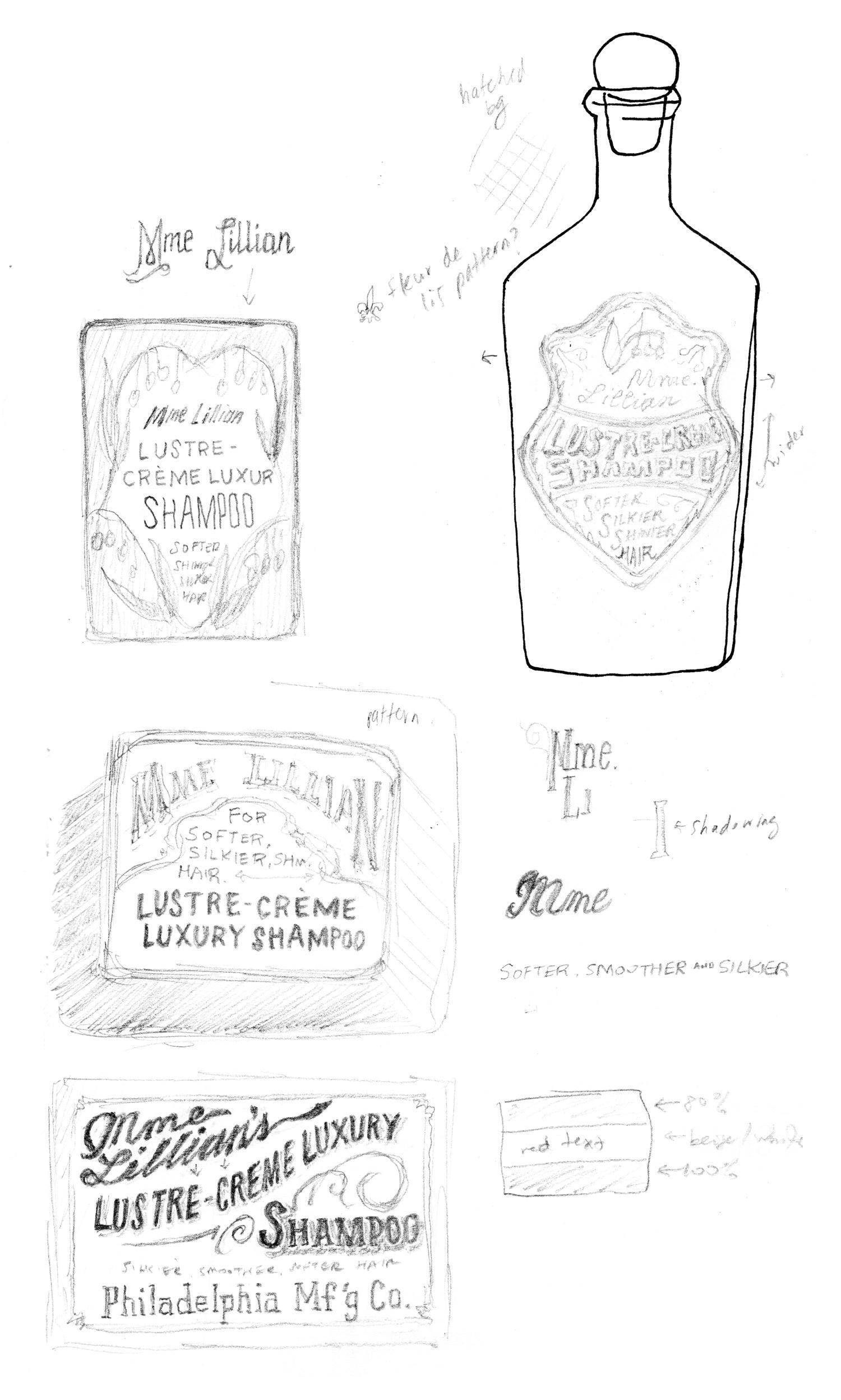 Madame Lillian's Shampoo - image 3 - student project
