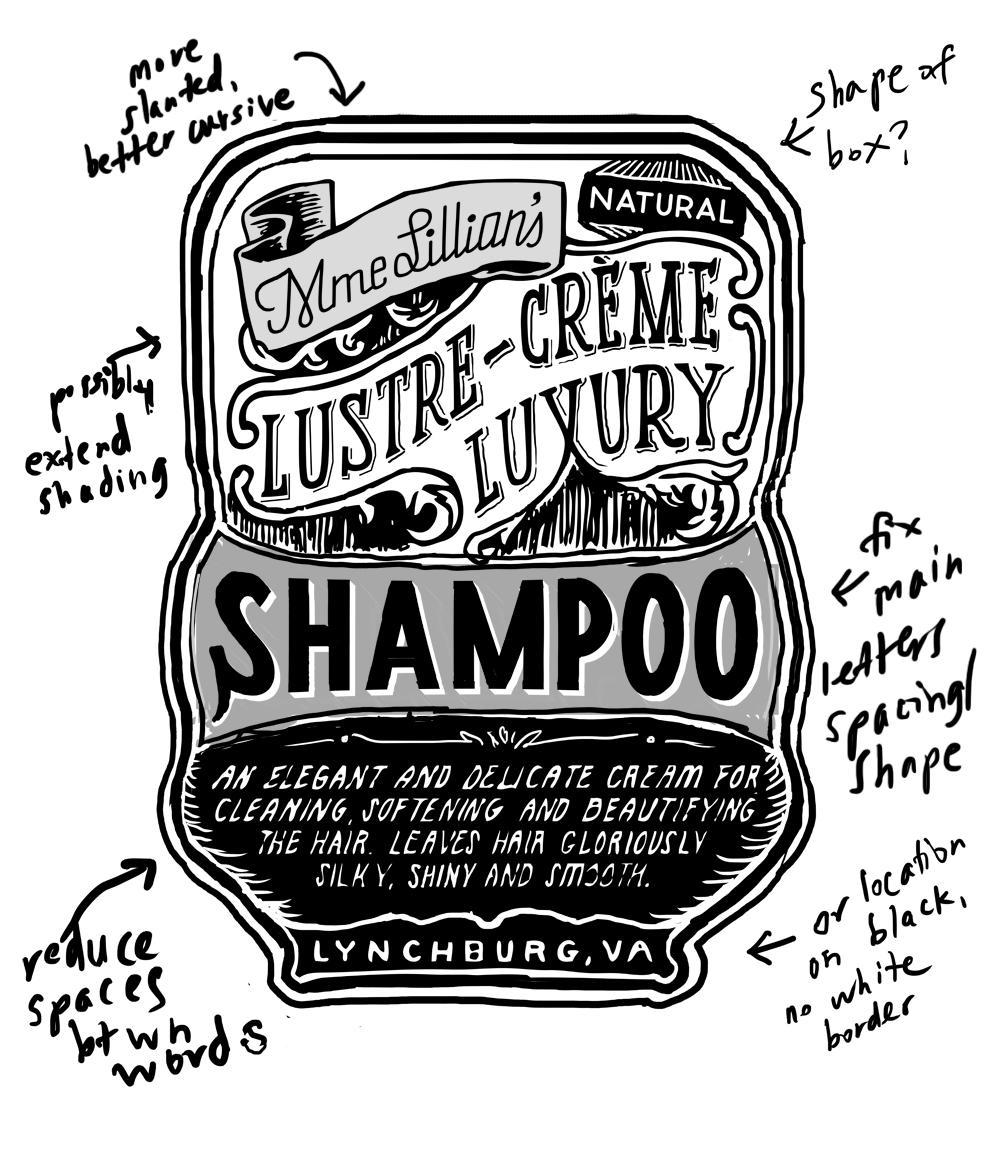 Madame Lillian's Shampoo - image 1 - student project