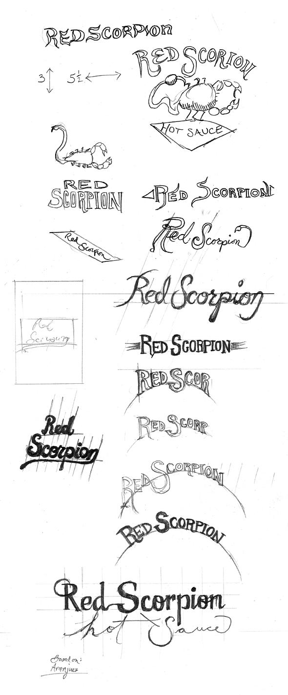 Red Scorpion hot sauce - image 2 - student project