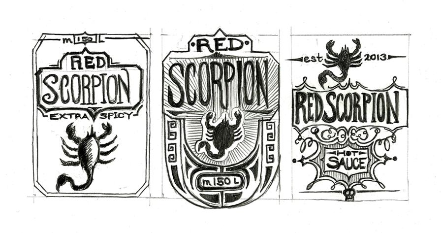 Red Scorpion hot sauce - image 4 - student project