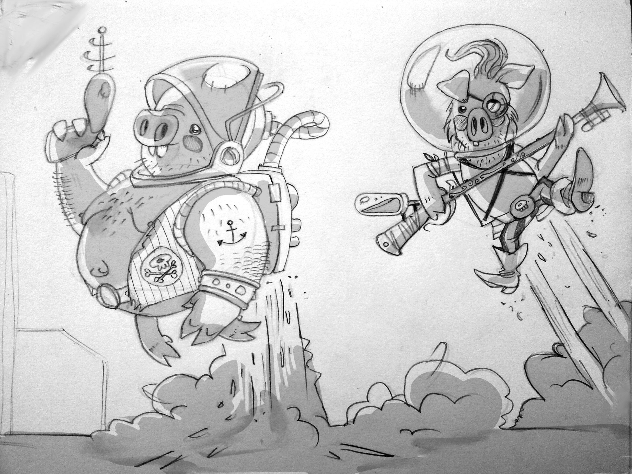 Space Pirates Ahoy!! - image 5 - student project