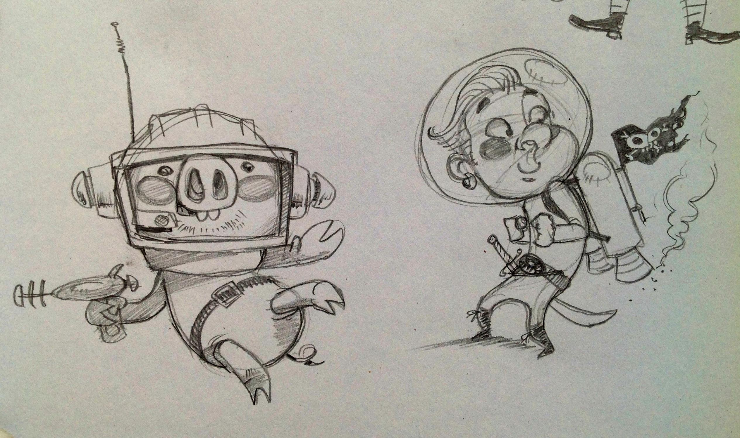 Space Pirates Ahoy!! - image 1 - student project