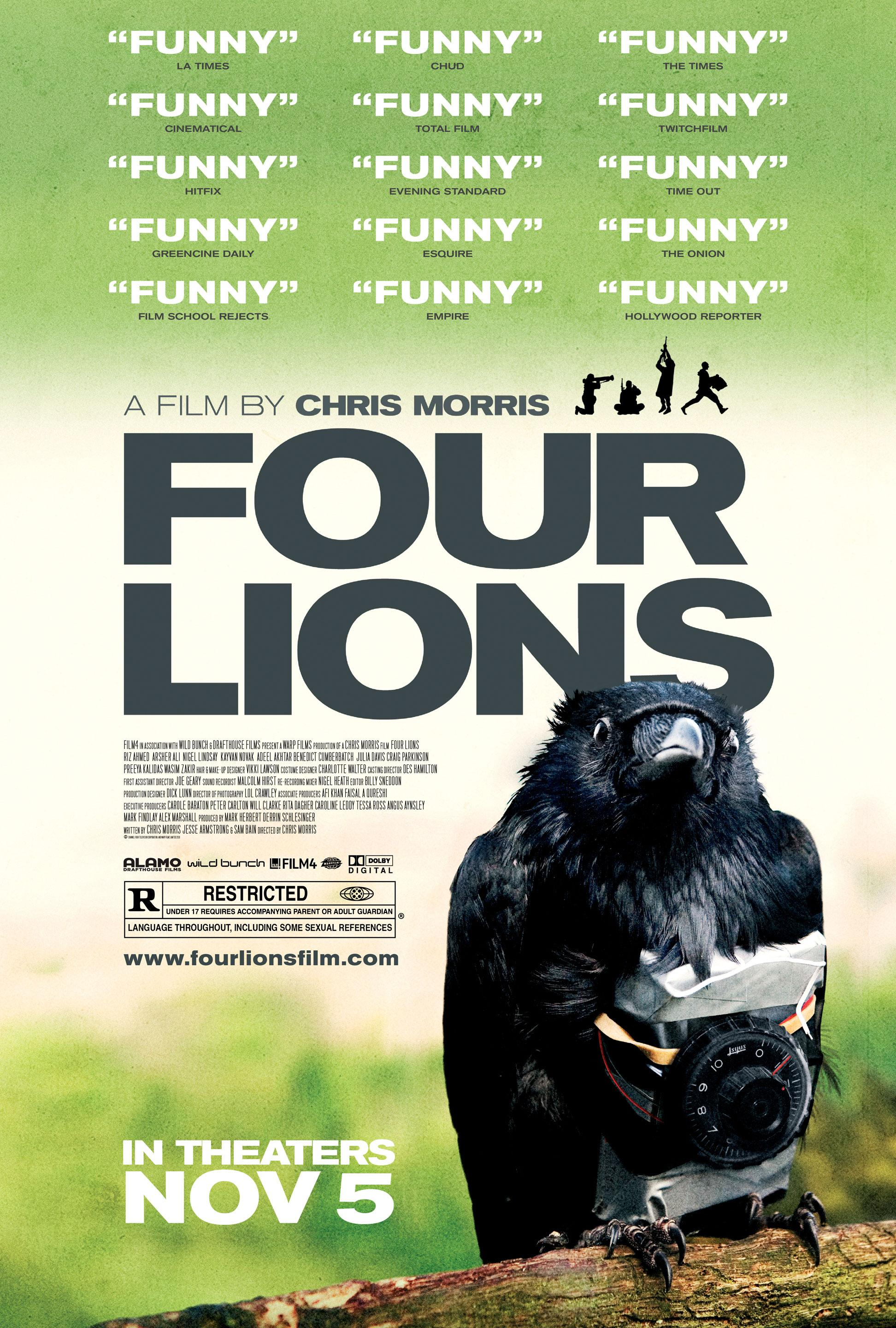 FOUR LIONS Movie Poster - image 2 - student project