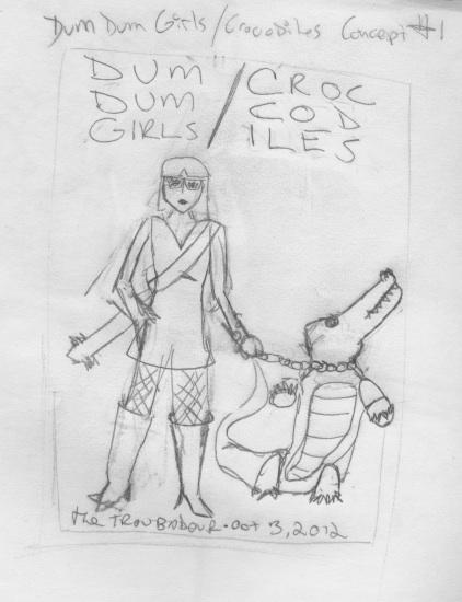 Dum Dum Girls/Crocodiles @ The Troubadour - image 1 - student project